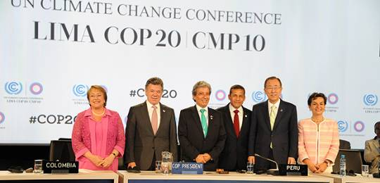 lima call to climate action