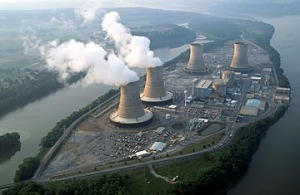 Three Mile Island, one of Exelon's more famous plants. Image by George D. Lepp